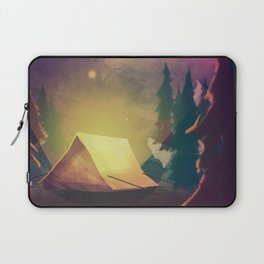 Night in th forest Laptop Sleeve