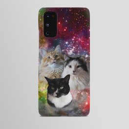 Space Fluffs Android Case