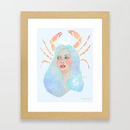 Cancer Queen Framed Art Print