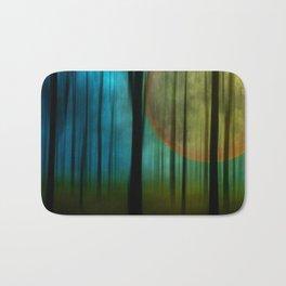Full Moon Forest Bath Mat