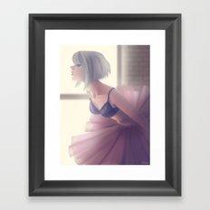 Ballerina Framed Art Print