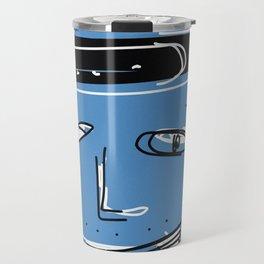 Blue kid Travel Mug