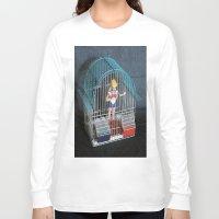 sailor venus Long Sleeve T-shirts featuring sailor  venus prigioniera by Francesco Mestria