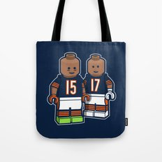 Bears Bricked: Brandon Marshall & Alshon Jeffery Tote Bag