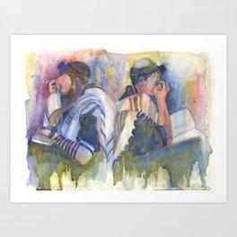 Prayer for Israel Art Print