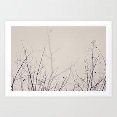 Winter's Bones Art Print