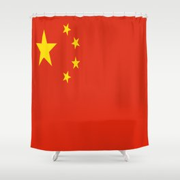 Flag of China Shower Curtain