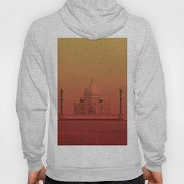 Taj Mahal, India. Hoody