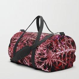 Plants cactus succulent red deep alien planet Duffle Bag