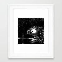 leon Framed Art Prints featuring Leon  by liquidmoon