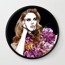 Tell me I'm your National Anthem Wall Clock