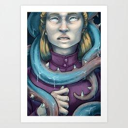 Eyes Blind to the Sea Art Print