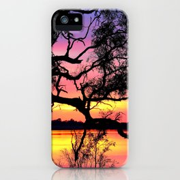 Lake Bonney Sunset iPhone Case
