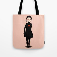 French Girl III Tote Bag