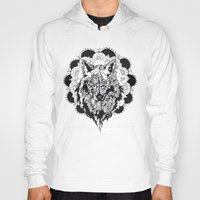 bad wolf Hoodies featuring Bad Wolf by Carina Maitch