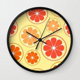 Orange game Wall Clock