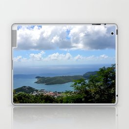 Over the Clouds in St Thomas Laptop & iPad Skin