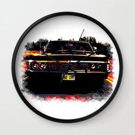 Impala multicolored (Supernatural) Wall Clock