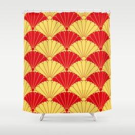 Fan texture Shower Curtain