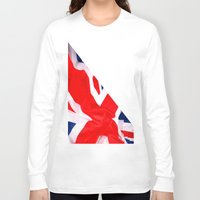 british flag Long Sleeve T-shirts featuring Im British by Stitched up designs