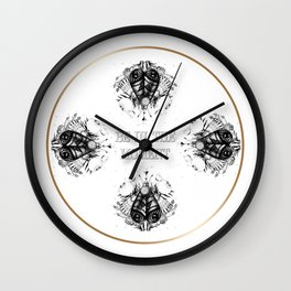 Be in the moment Wall Clock