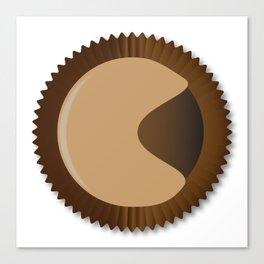 Chocolate Box Moon Shape Canvas Print