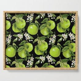Blooming pomelo with fruits Serving Tray