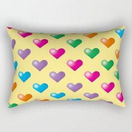 Hearts_F02 Rectangular Pillow