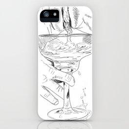 pussy margarita iPhone Case