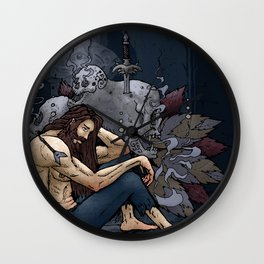 Spiritual Cleansing Wall Clock