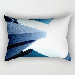 City from below Rectangular Pillow