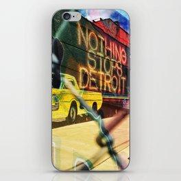 Nothing. iPhone Skin