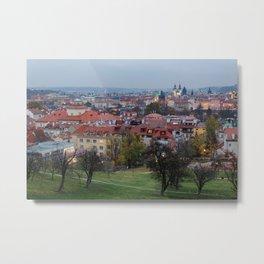 Night in Prague Metal Print