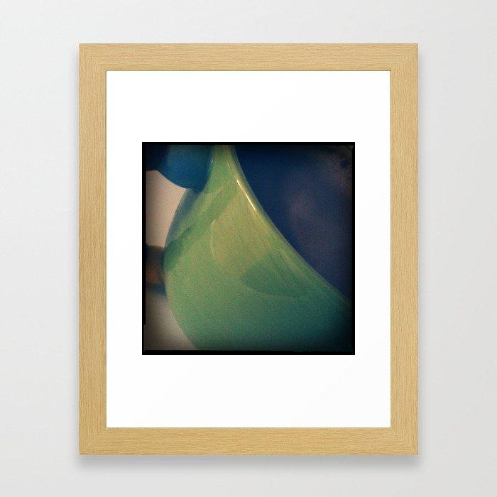 Big Green Muggin Framed Art Print