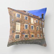 House Mill Bow London Throw Pillow
