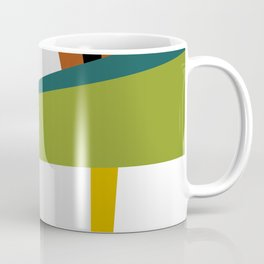 Mid Century Composition 2 Coffee Mug