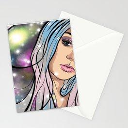 Galaxy Portrait Stationery Cards