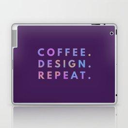 Coffee Design Repeat Laptop & iPad Skin