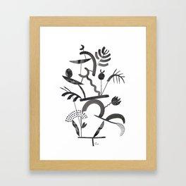 Abstract Botanica - 1 Framed Art Print