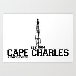 Cape Charles - Virginia. Art Print
