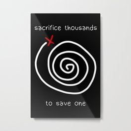 Life is Strange - Sacrifice Thousands Metal Print