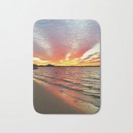 Sunset Streaks Bath Mat