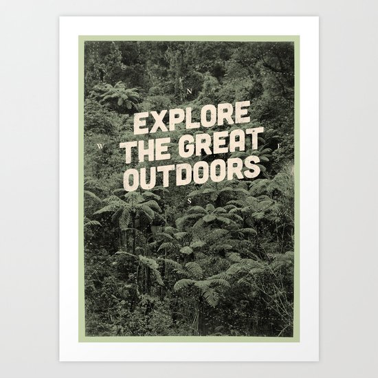 The Explorer Art Print