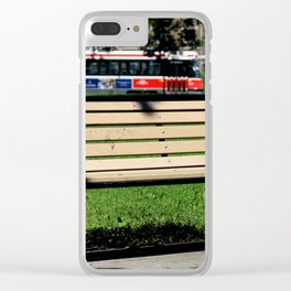 Red Rocket 29 Clear iPhone Case