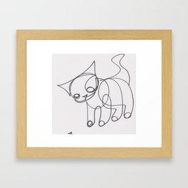 jack larson art Framed Art Print