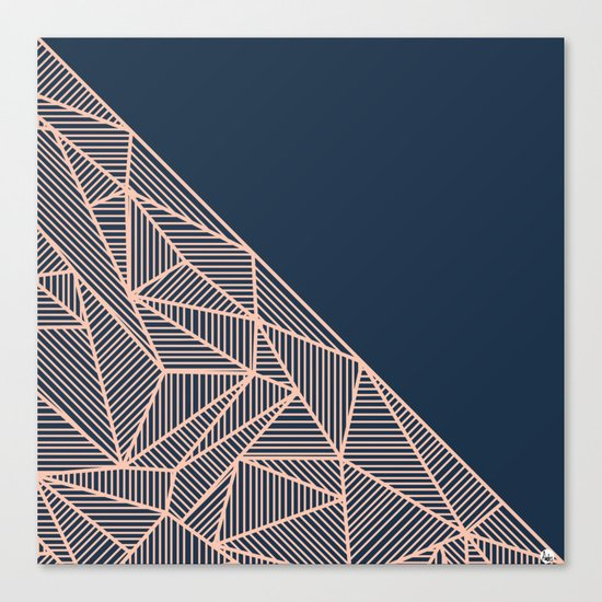 B Rays Geo 1 Canvas Print