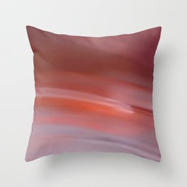 Spinning on that dizzy edge Throw Pillow