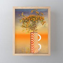 once we loved nature -1- Framed Mini Art Print