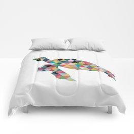 Colorful Geometric Turtle Comforters