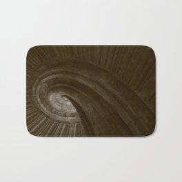 Sand stone spiral staircase 002 Bath Mat
